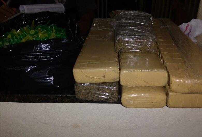 Casa no Cruzado era point do tráfico em Ibaté; quatro são detidos