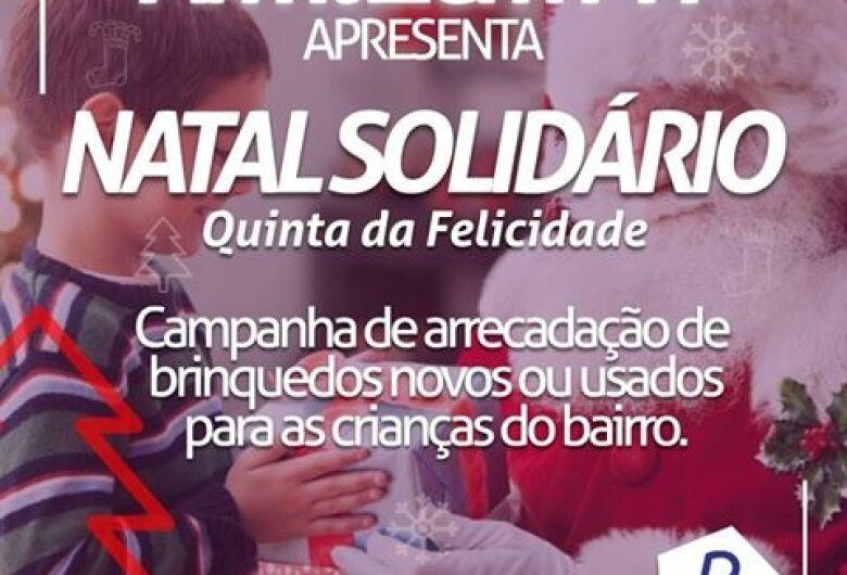 Natal Solidário da Quinta da Felicidade quer colocar o sorriso no rosto de uma criança