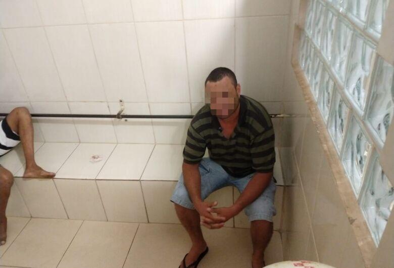 Homem é detido após ameaçar e agredir enteados em Ibaté