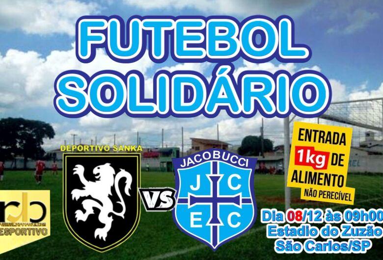 Deportivo sanka e Jacobucci medem forças em jogo beneficente no Zuzão