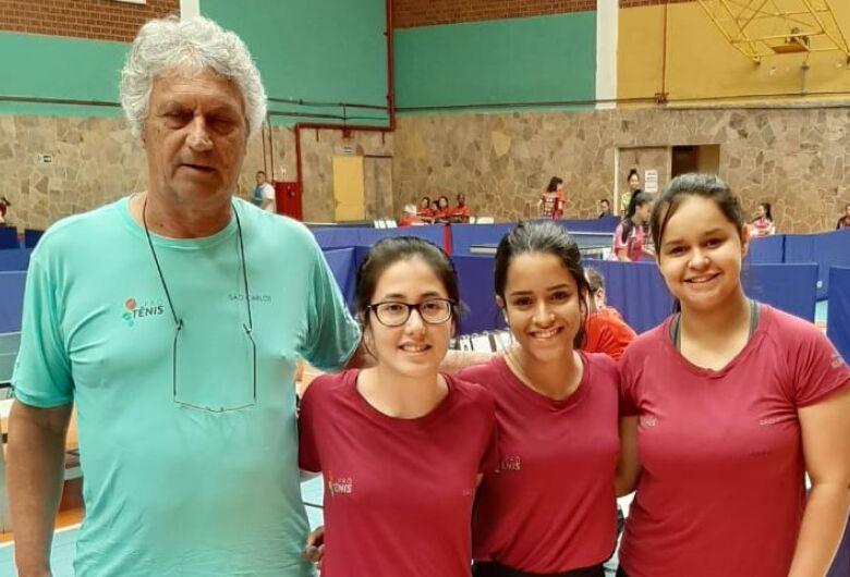Tênis de mesa de São Carlos disputa bronze nos Jogos Abertos