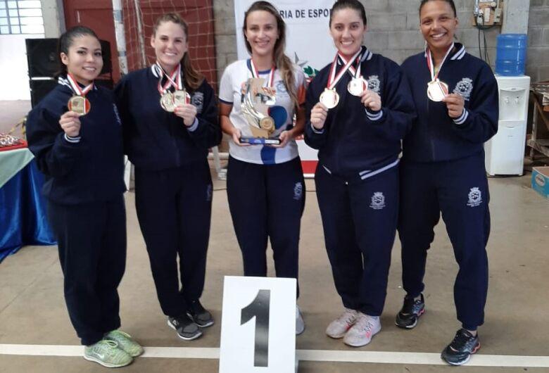 Equipe feminina de karatê é campeã geral nos Jogos Abertos