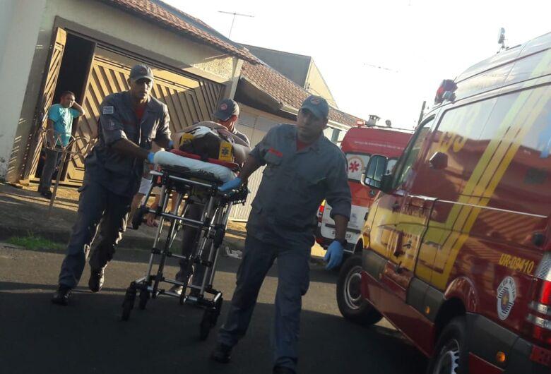 Mãe e filha sofrem queda de bike no Santa Felícia