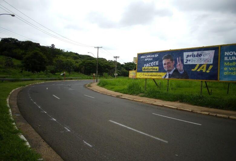 Outdoors prós pacote anticrime e prisão em 2ª instância são colados em São Carlos