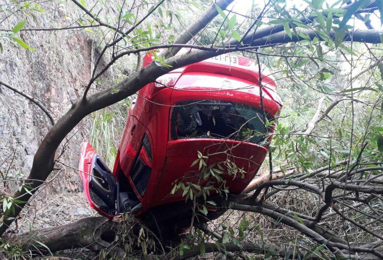Gol é abandonado após cair de uma altura de 15 metros no Jardim das Torres