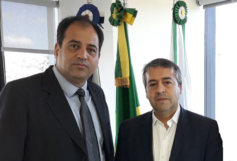 Vereador Sérgio Rocha busca recursos para 2020 em Brasília