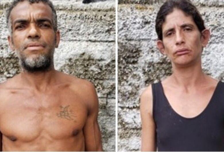 Identificados corpos de casal encontrado sem os olhos na região