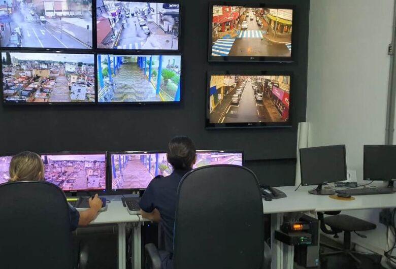 37 câmeras de monitoramento já estão em funcionamento em São Carlos