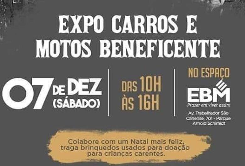 Exposição de carros e motos arrecadará brinquedos em São Carlos