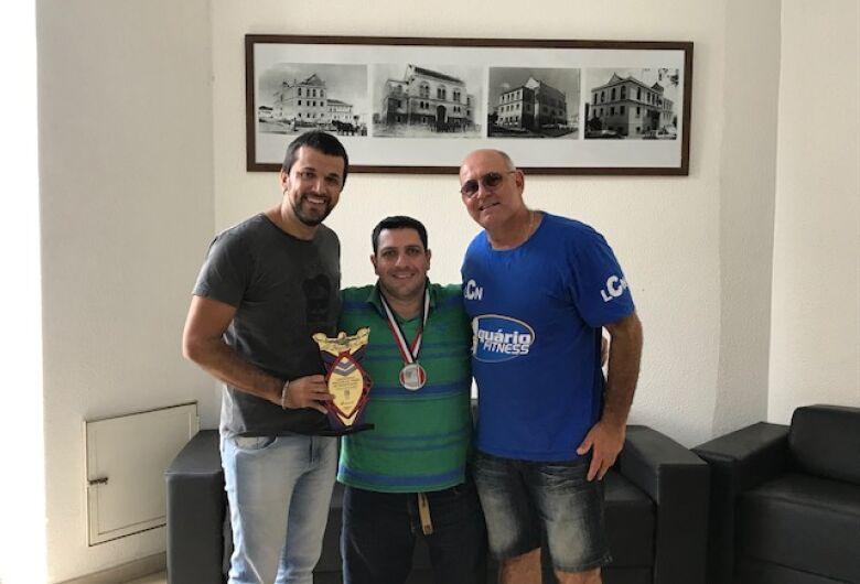 Vereador Rodson parabeniza Mitcho Bianchi e atletas ACD pelos recordes obtidos