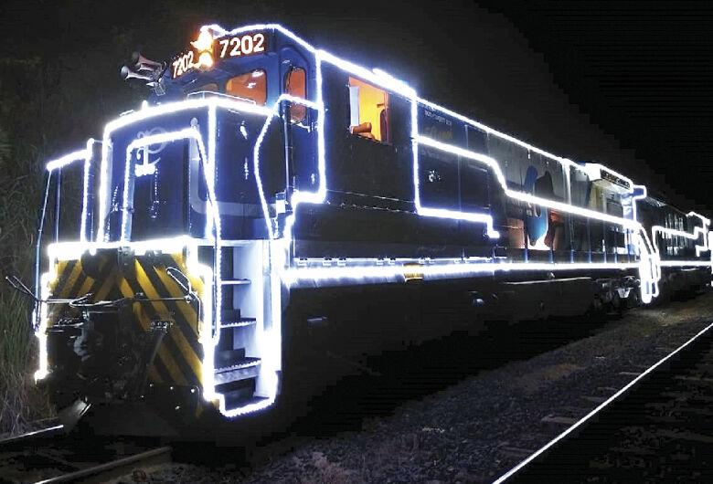 Locomotiva iluminada vai passar por São Carlos no dia 19