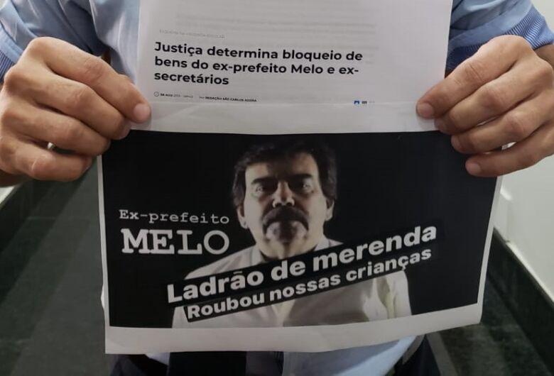 Melo diz que vereadores praticam emenda bumerangue; parlamentares acusam ex-prefeito de corrupção