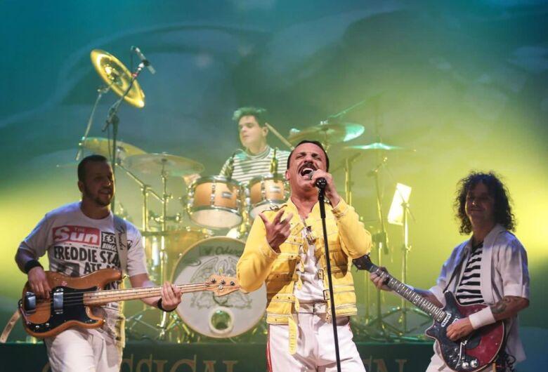 Unimed realiza show beneficente com bandas covers do Queen e Barão Vermelho em São Carlos