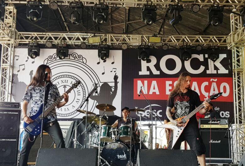 Sábado tem festival rock na Estação