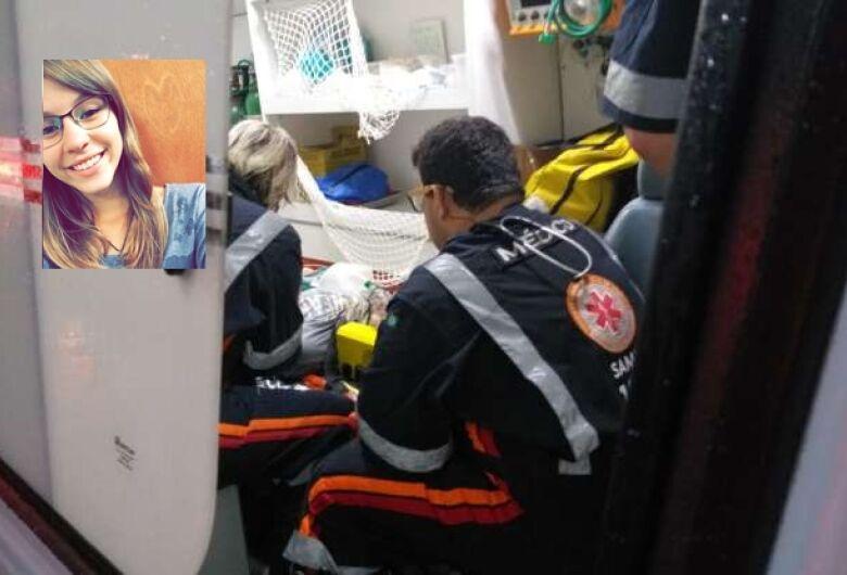 Morre jovem que foi atingida por ônibus na Miguel Petroni