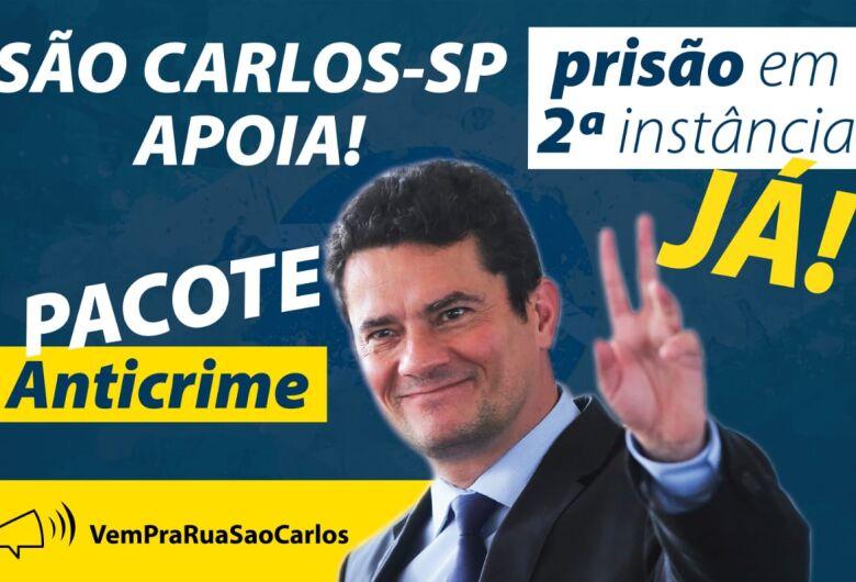 Carreata em São Carlos quer manter pressão no STF a favor da prisão em 2ª Instância