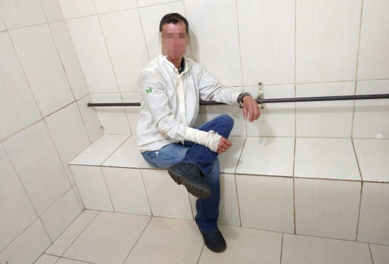 Homem embriagado é detido após tentar furtar moto na Vila Prado