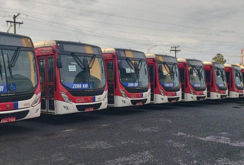 Frota da Suzantur São Carlos recebe 20 ônibus zero km