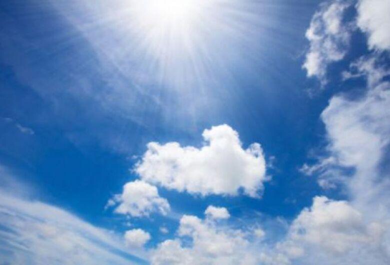 Semana começa com tempo estável e predomínio de sol