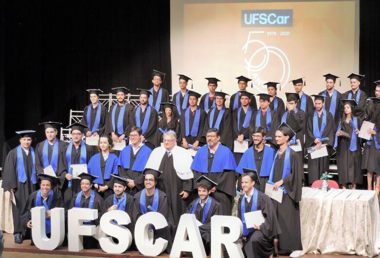 UFSCar dá início às cerimônias de Colação de Grau