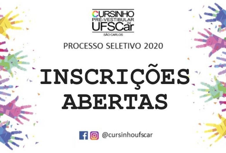 Curso Pré-Vestibular da UFSCar recebe inscrições em processo seletivo até 29 de janeiro