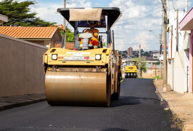 Confira as ruas que vão ser recapeadas nesta quarta-feira