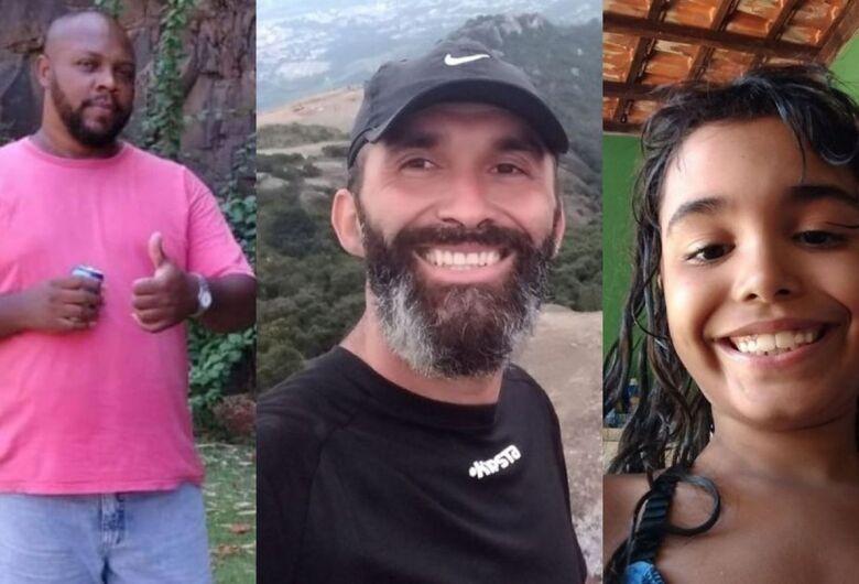 Pai, menina e dois amigos que tentaram salvá-la morrem afogados no litoral de SP