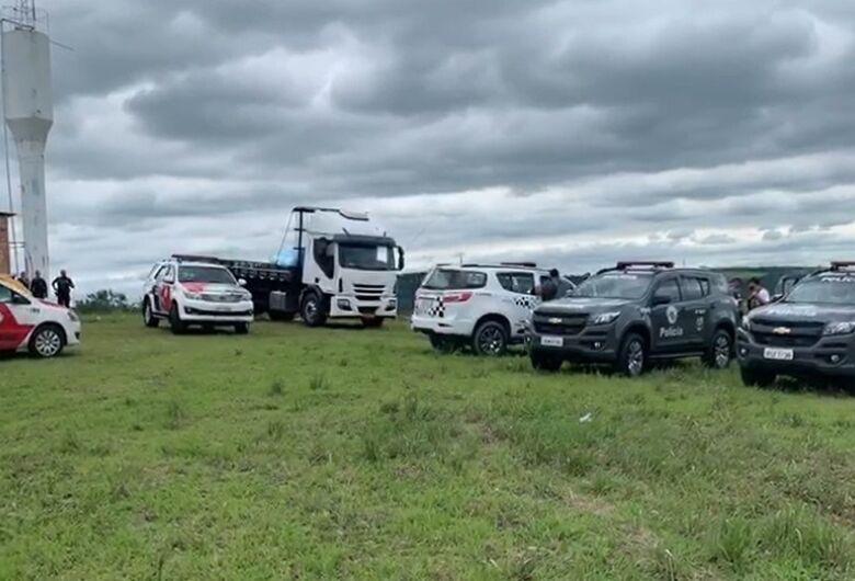 Três criminosos morrem após troca de tiro com a polícia em cidade da região