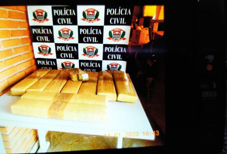Mecânico é preso com 13 kg de maconha no Santa Felícia