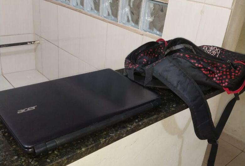 Jovem é acusado de furtar o noteboook da própria irmã