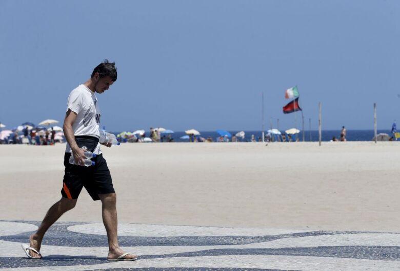 Com 48,6ºC, Rio de Janeiro registra maior sensação térmica do ano