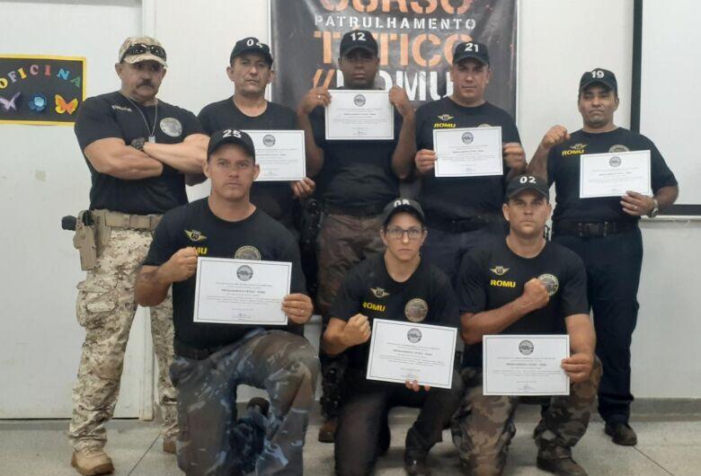 Em Araras, Guarda Municipal de Ibaté participa de Curso de Patrulhamento Tático ROMU