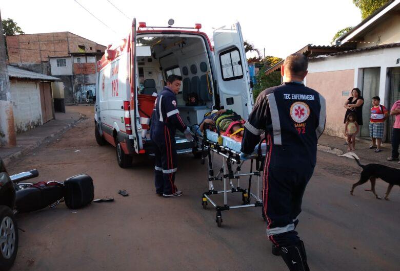 Jovem que sofreu acidente de moto no Gonzaga está internado na UTI