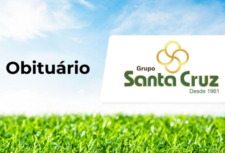 Grupo Santa Cruz informa notas de falecimento