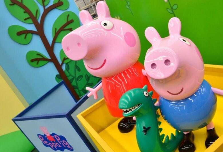 """""""Playground da Peppa Pig"""" começa no Shopping Iguatemi em São Carlos"""