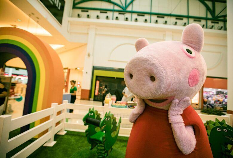 Peppa Pig é atração do final de semana no Iguatemi São Carlos