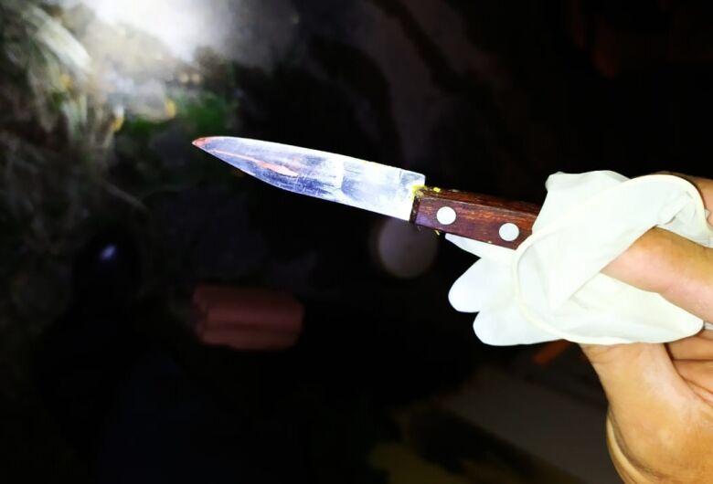 Homem embriagado é ferido com faca no Madre Cabrini