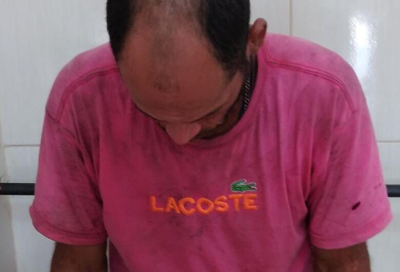 Ladrão é preso após furto em obra na Vila São José