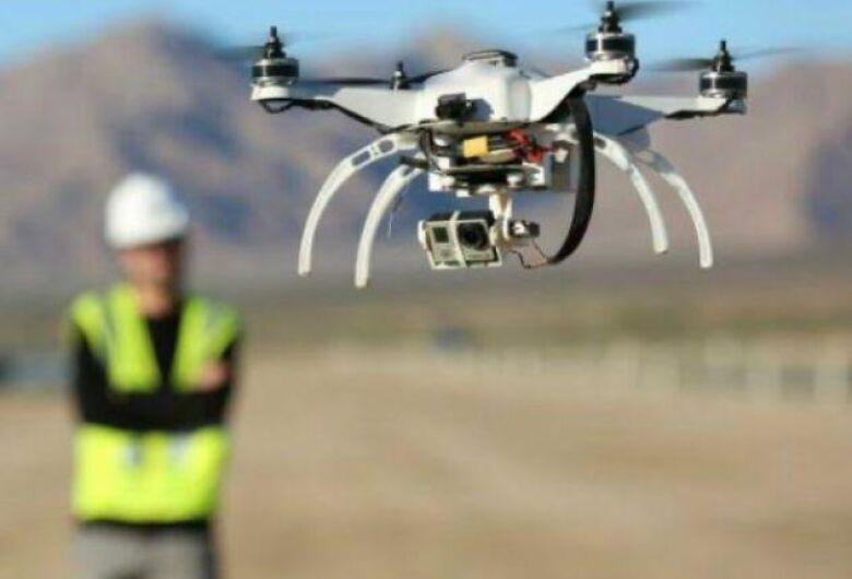 Drones irão auxiliar no trajeto da Cavalgada Solidária
