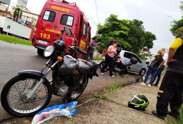 Motorista 'acerta' motociclista na região do Terminal Rodoviário