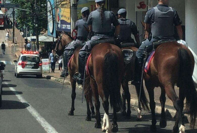Paixão Sertaneja solicita cavalaria do BAEP em Cavalgada Solidária