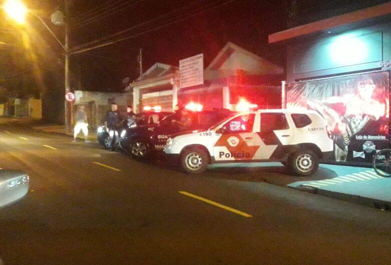 Pelo terceiro final de semana consecutivo, operação é realizada no bairro Cidade Jardim