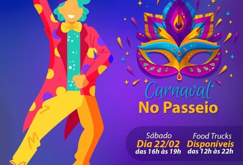 Passeio São Carlos terá várias atrações durante o Carnaval