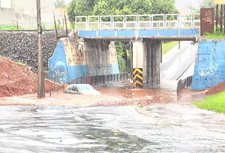 Jardim São Paulo está entre os locais que mais choveu no estado nesta quarta-feira de cinzas