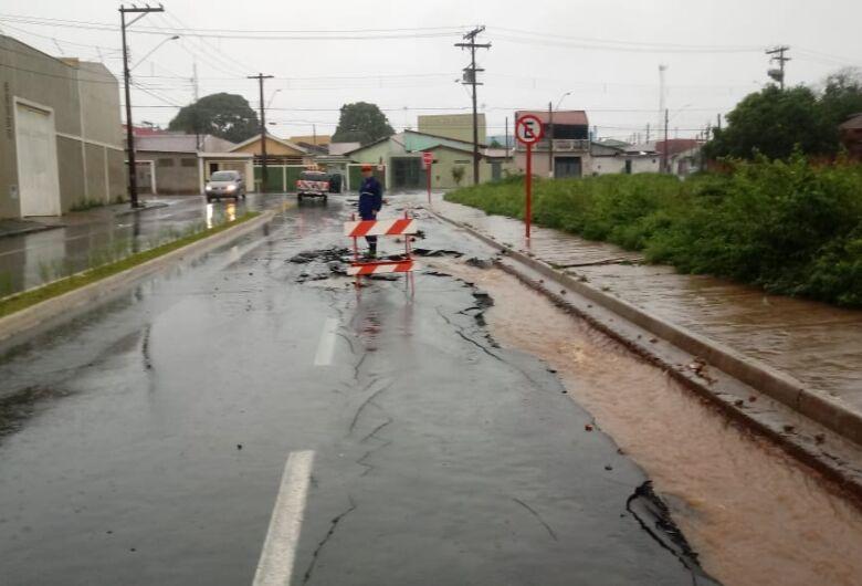 Veja os pontos interditados pela chuva de 70 mm que atingiu São Carlos nesta quarta-feira (26)