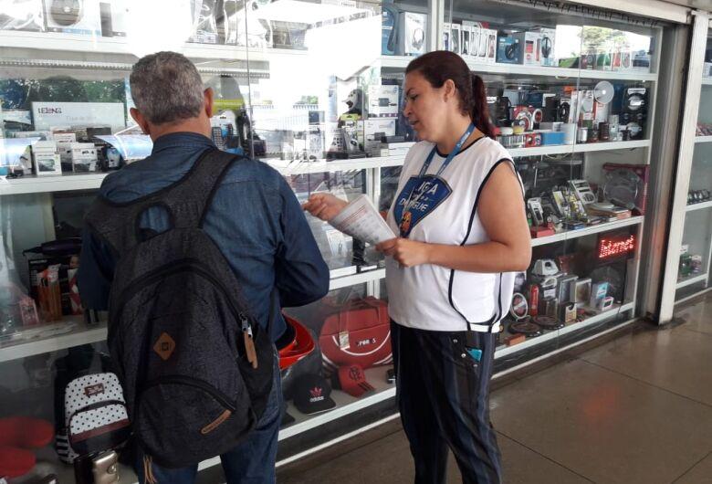 São Carlos realiza atividade na Semana Estadual de Mobilização Social contra o Aedes aegypti