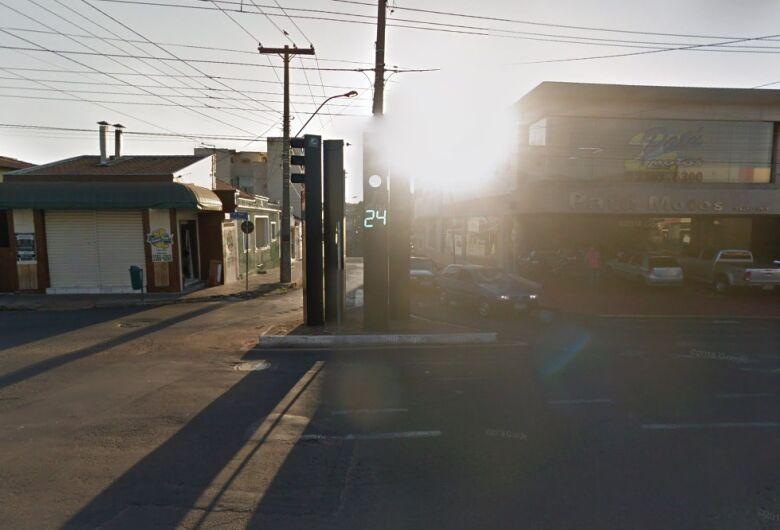 Homem procurado pela Justiça é preso pedindo dinheiro em cruzamento no Centro