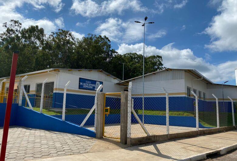 EMEB do Jardim Araucária já está atendendo 190 alunos do 1º ao 5º ano
