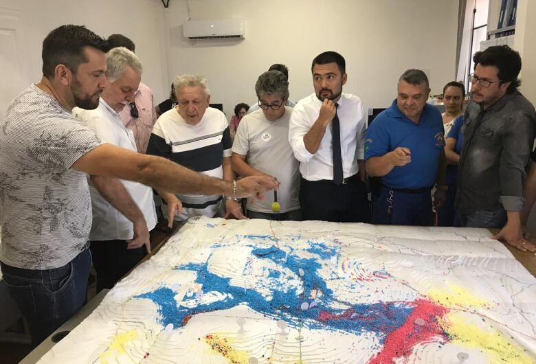 Vereador Rodson participa de reunião técnica para viabilizar projeto de combate às enchentes