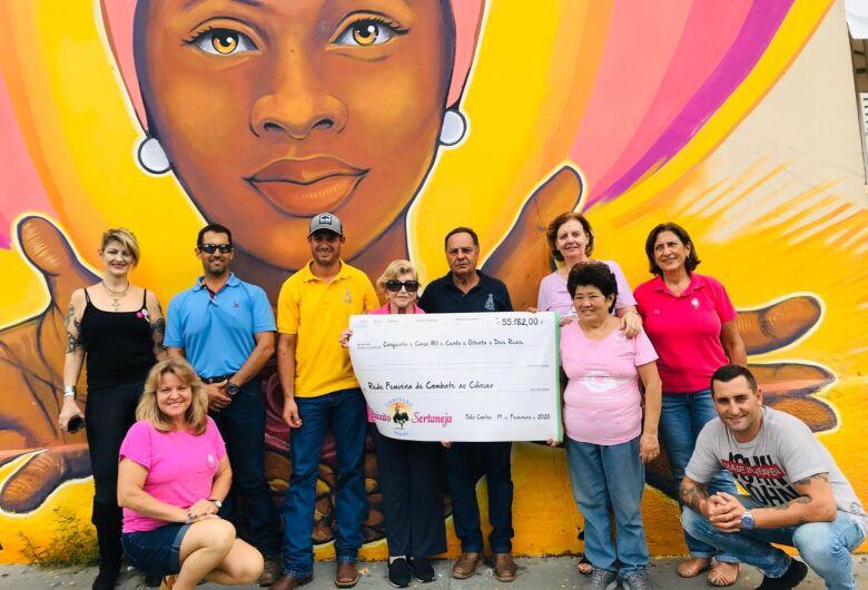 Cavalgada Solidária arrecada R$ 55.182,00 para a Rede Feminina de Combate ao Câncer
